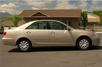toyota camry gold2005